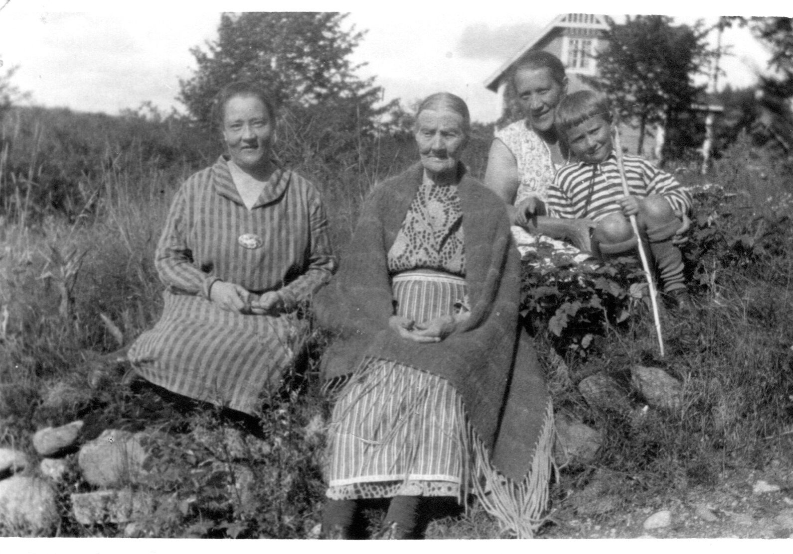 Kaisa, Hanna ja Esteri Eerola
